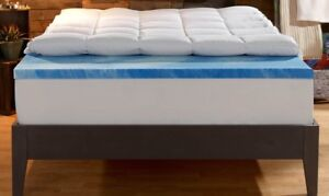 """King Size 4"""" Mattress Topper from Sleep Innovations"""