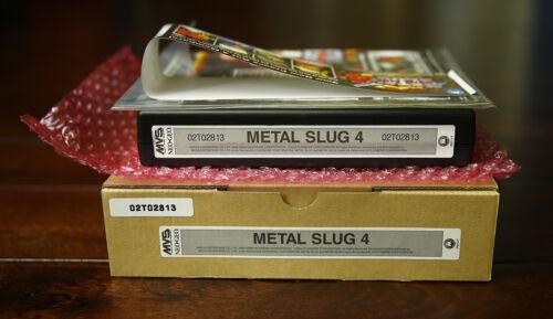 Metal Slug 4 US English MVS Kit •Neo Geo JAMMA Arcade System • SNK Mega *LNIB*