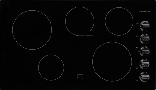 "Frigidaire FFEC3624PB 36"" Smoothtop Electric Cooktop in"