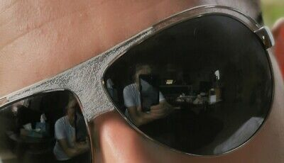 Original Dolce & Gabbana Sonnenbrille I Piloten Brille Porno Aviator D&G LEDER