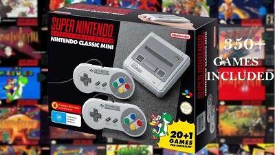 Nintendo SNES Mini CIassic BNIB 300+ Games Included OFFER