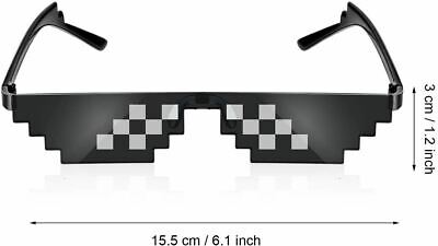 THUG LIFE Pixel Novelty Sunglasses