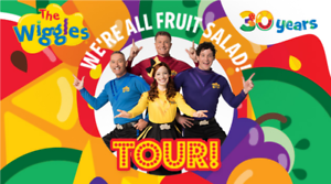 3 x tickets to The Wiggles at Rod Laver Arena, Sunday 9th May at 1pm.