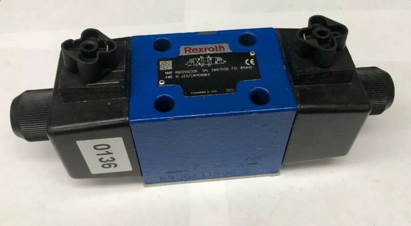 Rexroth R900592338 Directional Control Valve 4WE10J33/CW11ON9K4 NO BOX