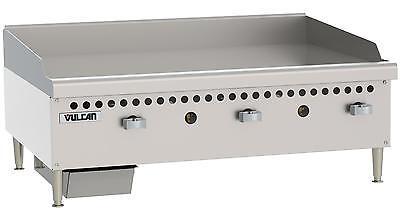 Vulcan Vcrg36-m Medium Duty 36 Manual Control Gas Griddle