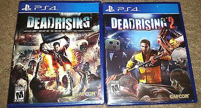 Dead Rising & Dead Rising 2 -Sony PlayStation 4 PS4 Games Capcom