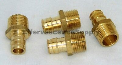 Lot Of 4 34 Propex X Npt Male Adapter Wirsbo Style Lead Free Brass