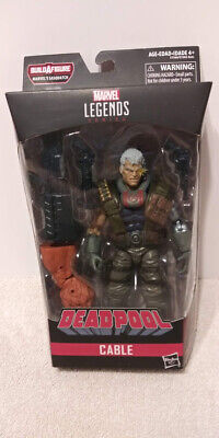 CABLE X-Men Marvel Legends X-Force Deadpool Sasquatch Series 2018 Hasbro MIB
