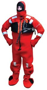 Like New Sea Wolf Survival Immersion Suit