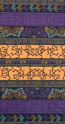 Bandana tubolare sciarpa microfibra traspirante viola arancione nero scaldacollo