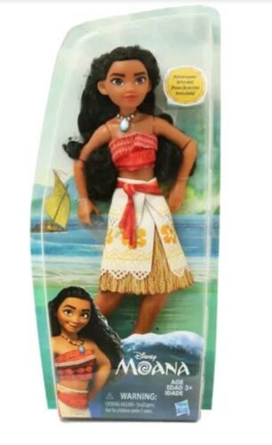 Disney Moana Doll, Necklace And Outfit Action-Ready Poses New In Box. - $15.99