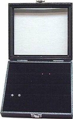 Glass Top Jewelry Display Case Box W Earring