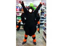 ADULT ONE SIZE GIANT TARANTULA SPIDER FANCY DRESS COSTUME