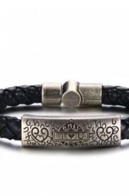 Mens 'i love you' bracelet