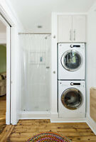 Move washer/dryer from basement to 2nd floor or 3th floor Or vic