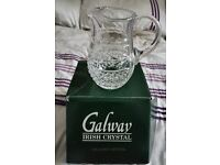 Galway Irish Crystal 25% Lead Crystal Jug