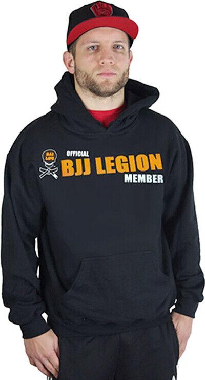 BJJ Life Official BJJ Legion Hoodie - Small - Black
