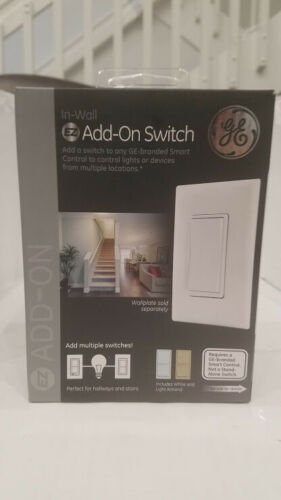 General Electric 12723 In-Wall Lighting Controller - White