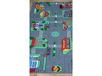 Car toy play mat carpet rug
