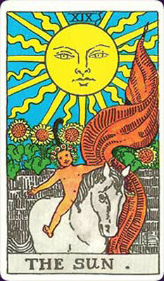 University Books Tarot  Single Replacement Card Vintage Rider Waite Smith
