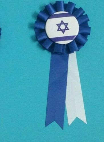 👀Israel Flag Round Pin Button👀