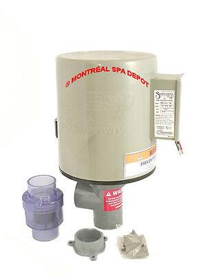 Indoor Hot Tub - Waterway spa hot tub air BLOWER SANTANNA II 1.5 HP indoor/outdoor installation