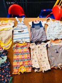 3 - 6 months boys summer clothes bundle