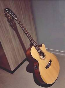 Selling Cort CEC-5 classical and acoustic-electric guitar Docklands Melbourne City Preview
