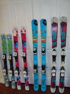 Assorted Children's Twin Tip Skis  $125