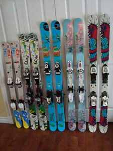 Assorted Children's Twin-Tip Skis  $125 per pair