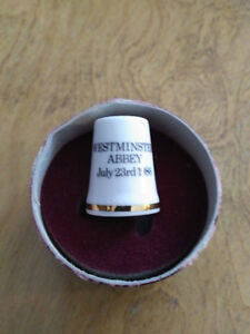 Royal Albert Royal Wedding Thimble