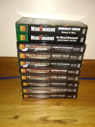 Lot Of 10 Mech Warrior Books