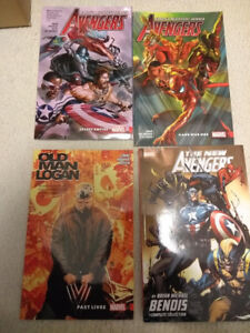 Assorted Avengers/Logan Comic Books