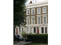 Quiet Room for short or long lets in a Victorian House in Maida Vale. Rent inclusive of all bills.