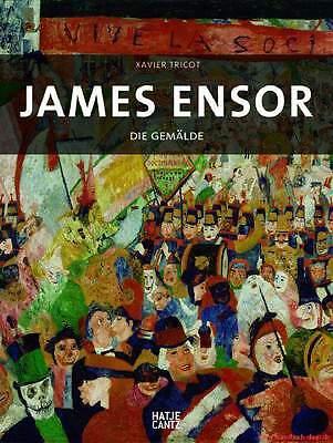 Fachbuch James Ensor, Gemälde WERKVERZEICHNIS, BILLIGER statt 198€, NEU