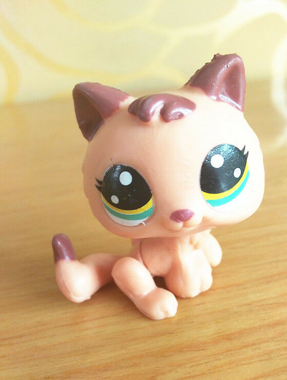 Animal Toys For Boys : Littlest pet shop lps sw cute brown animal toys for
