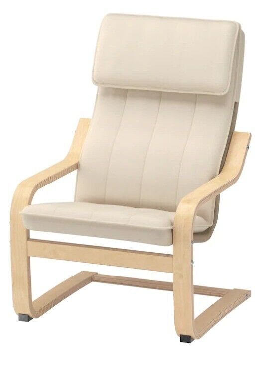 IKEA POÄNG Children's armchair, birch veneer, Almås natural   in Richmond, London   Gumtree