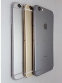 iPHONE 6 16GB & 64GB - GOOD CONDITION - SHOP RECEIPT & WARRANTY - ALL COLOURS & NETWORKS AVAILABLE