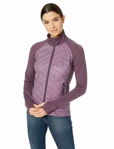NWT Womens Outdoor Research Melody Hybrid Jacket Pacific Plum XL