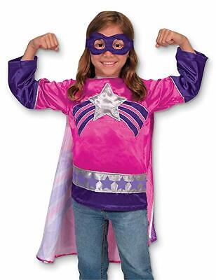 SUPER HEROINE ROLE PLAY SET STAR CHILD TODDLER HALLOWEEN COSTUME SMALL 3-6 4784