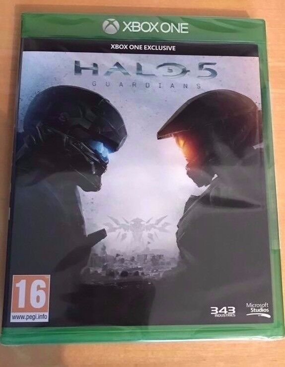 **SEALED** HALO 5 GUARDIANS XBOX ONE GAME BRAND NEW HALO5 FOR XBOX1. GENUINE UK STOCK
