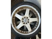 Lenso rs5 alloy wheels