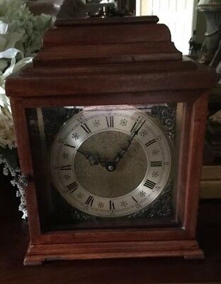 VINTAGE SESSIONS ELECTRIC CARRIAGE/MANTEL CLOCK