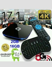 ANDROID BEST TV BOX HD 4K ULTRA FAST SMART TV