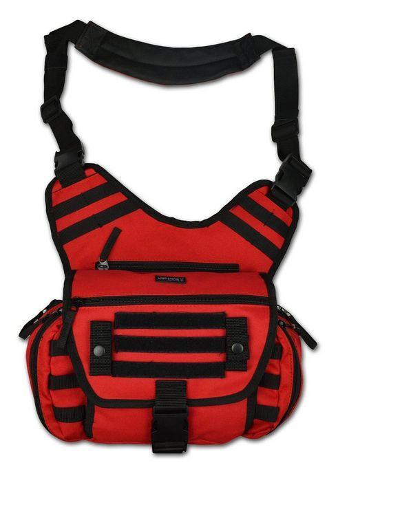 Red Lightning X MedSling Tactical Messenger-Style Shoulder Sling Pack Bag