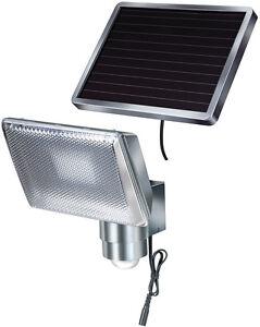 Solar LED-Strahler SOL 80 ALU IP44 mit Infrarot-Bewegungsmelder   Brennenstuhl