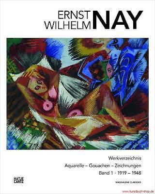 Fachbuch Ernst Wilhelm Nay, WERKVERZEICHNIS Aquarelle, Band 1, WICHTIG