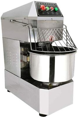 110v Commercial Spiral Dough Food Mixer Stainless Steel 30qt 2-speed Restaurants