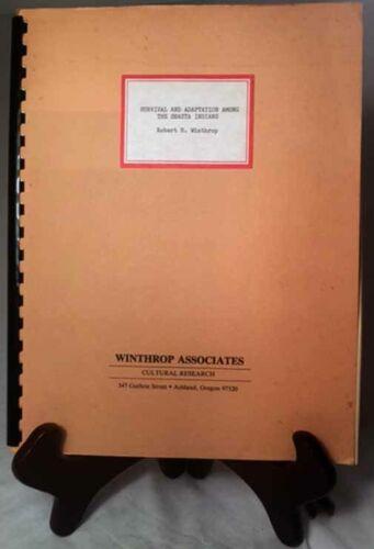 The Shasta Indians by Winthrop/Nice 1986 Combs Binding ULTRA-RARE Manuscript