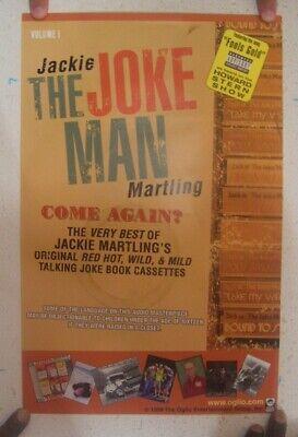 Jackie The Joke Man Martling Poster Howard Stern Come Again 1999 Best Of (Original Best Man Jokes)